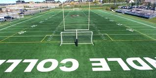 Rundle College's football field