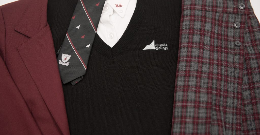 Rundle College uniform pieces