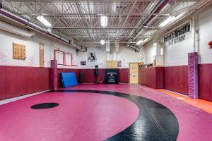 Image of Rundle College Conklin School Wrestling Room