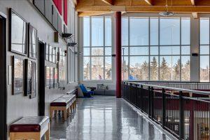 Image of Rundle College Conklin School Hallway