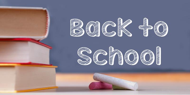 Event Calendar - Back to School