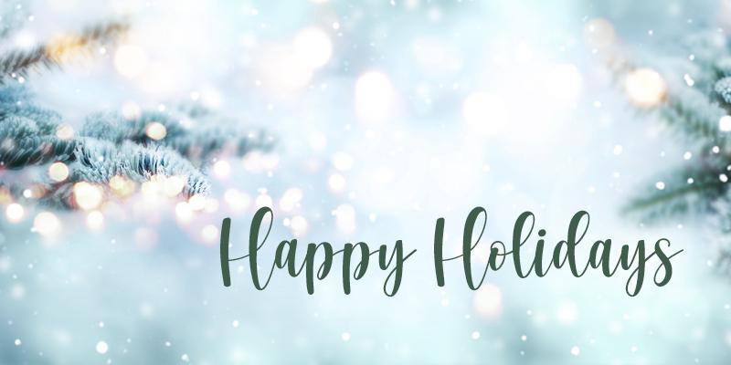 Event Calendar - Happy Holidays