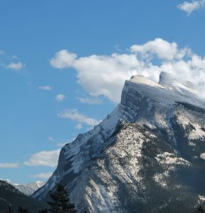 Mt. Rundle Mountain
